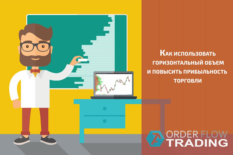 Как использовать горизонтальный объем и повысить прибыльность торговли.