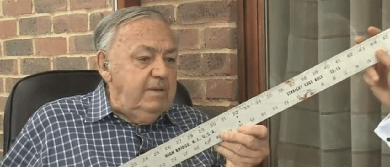 he VSA founder Tom Williams and his ruler