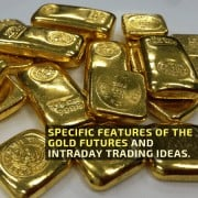 Specific features of the gold futures and intraday trading ideas.
