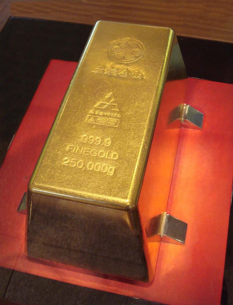 Buying/selling gold in a bank