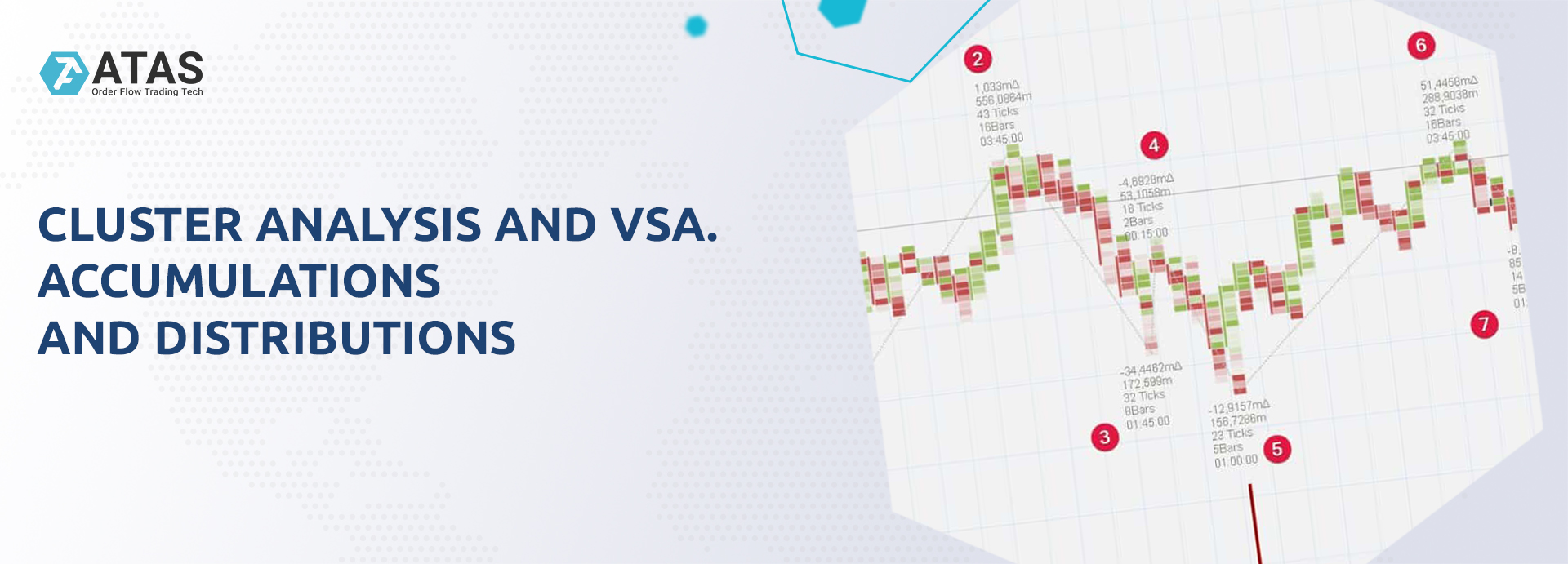 CLUSTER ANALYSIS AND VSA. ACCUMULATIONS AND DISTRIBUTIONS