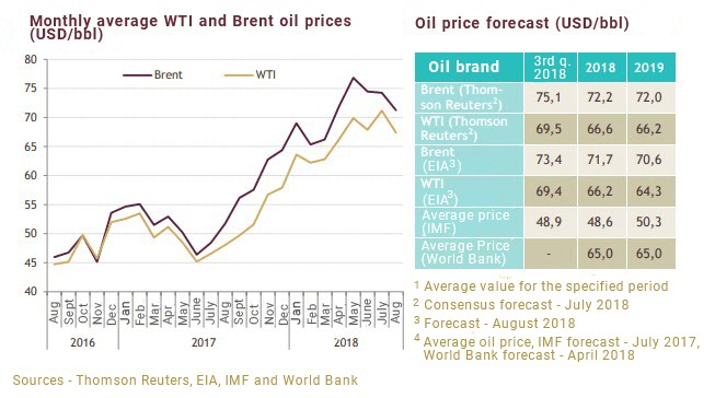 Fundamental analysis of the oil industry in Russia