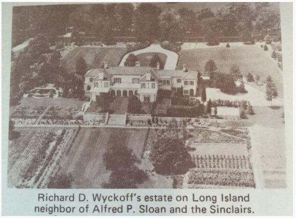 What Richard Wyckoff is famous for