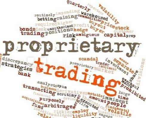 What prop trading is