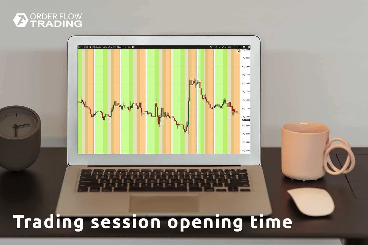 Trading session opening time. Schedule