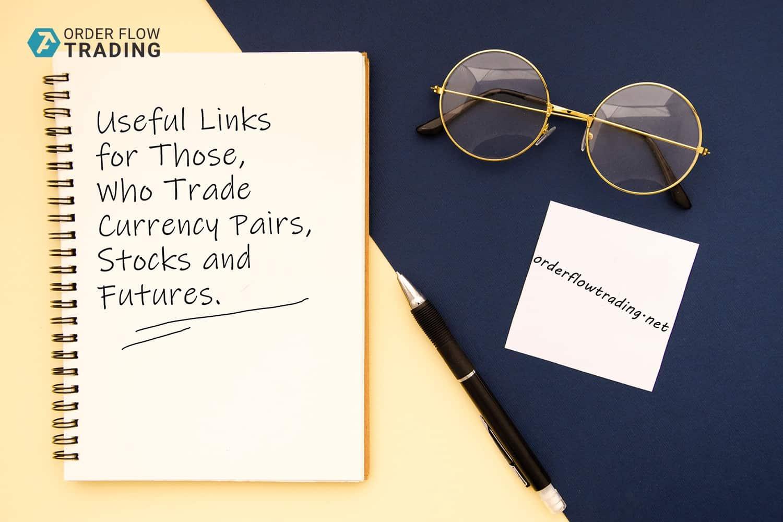 Полезные ресурсы для трейдеров, торгующих валютные пары, акции и фьючерсы.