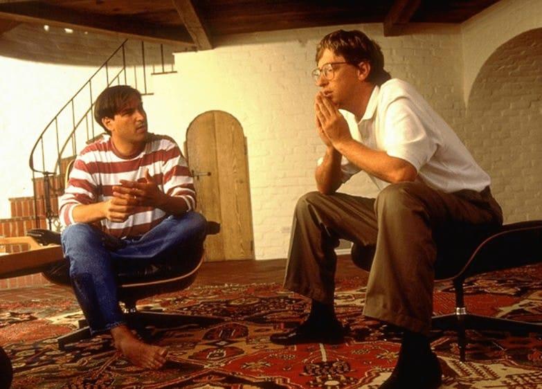 """""""Заклятые друзья"""" Стив Джобс и Билл Гейтс"""