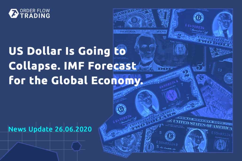 Front-page weekly events: they prophesy disaster to the dollar, IMF makes bears happy while economic statistics stands for bulls
