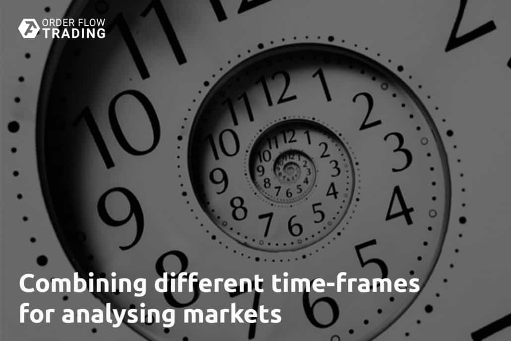 Combining different time-frames for analysing markets