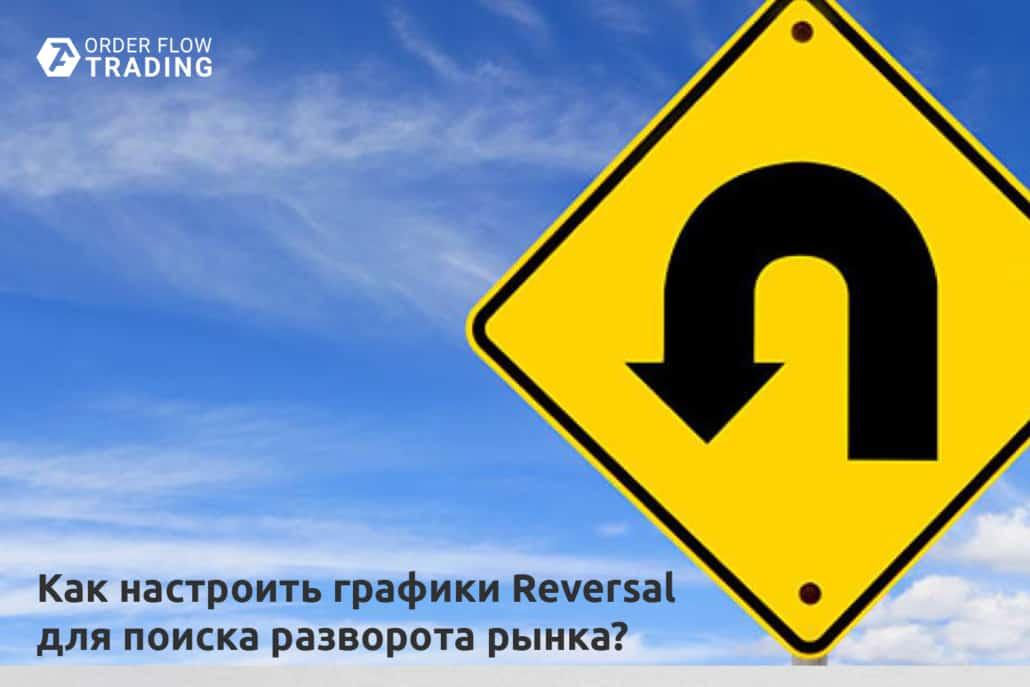 Как настроить графики Reversal для поиска разворота рынка?