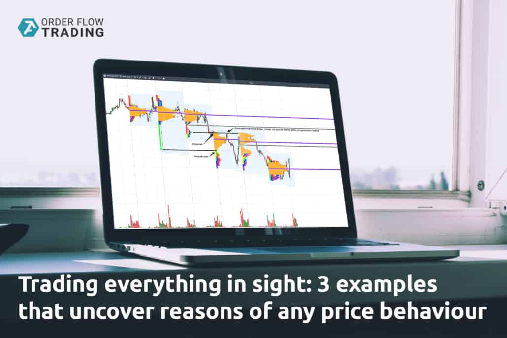 Trading everything in sight: 3 examples that uncover reasons of any price behaviour