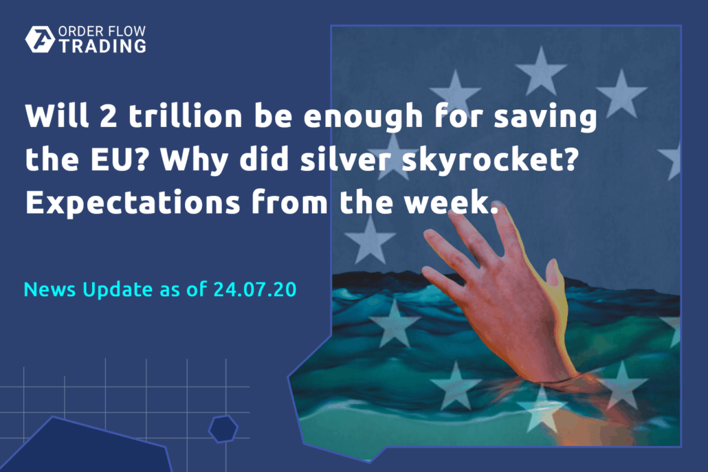 Will 2 trillion be enough to save EU? Why did silver skyrocket? Expectations from the week.