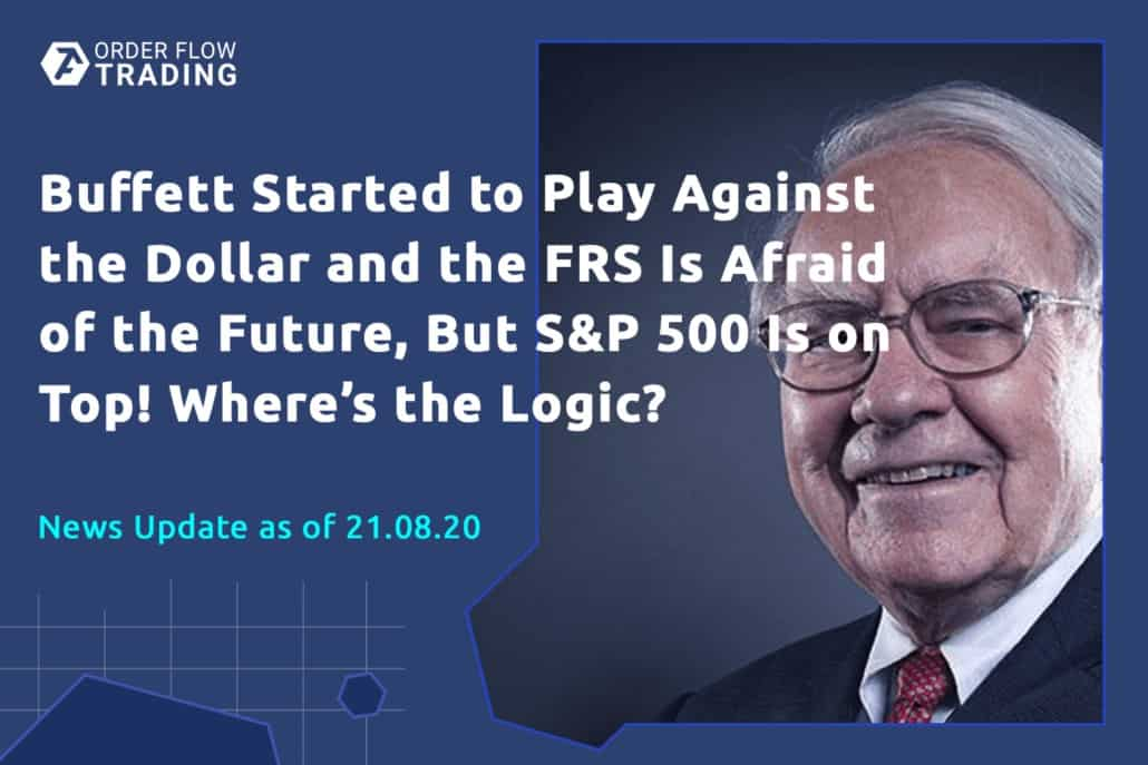 Buffett started to play against the dollar and the FRS is afraid of the future, but S&P 500 is on top! Where's the logic?