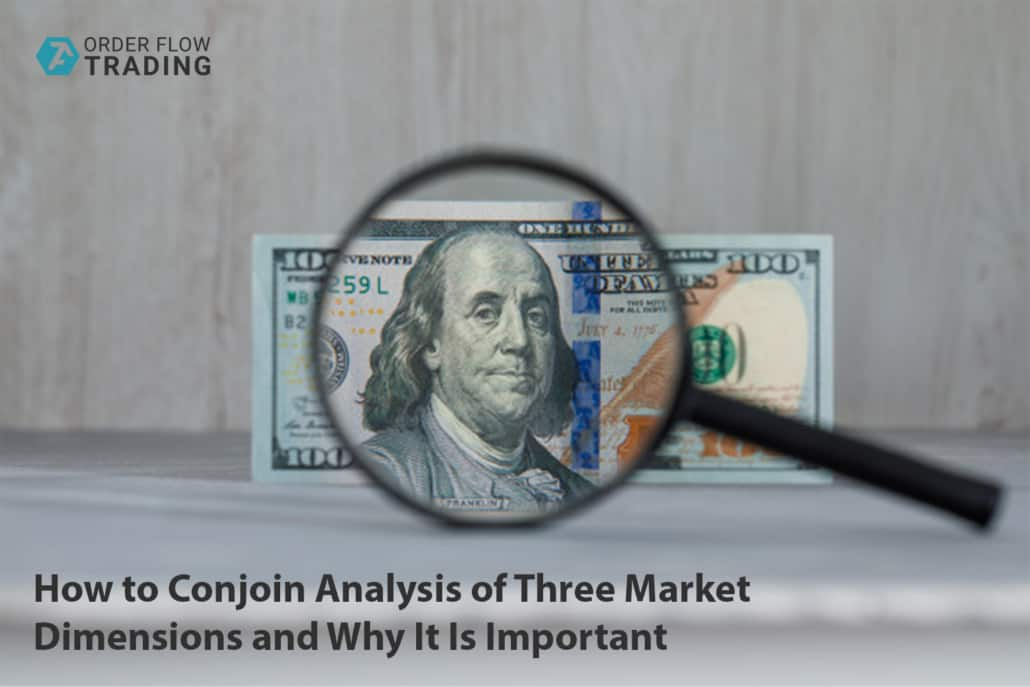 Price, time and volume. How to conjoin analysis of three market dimensions and why it is important