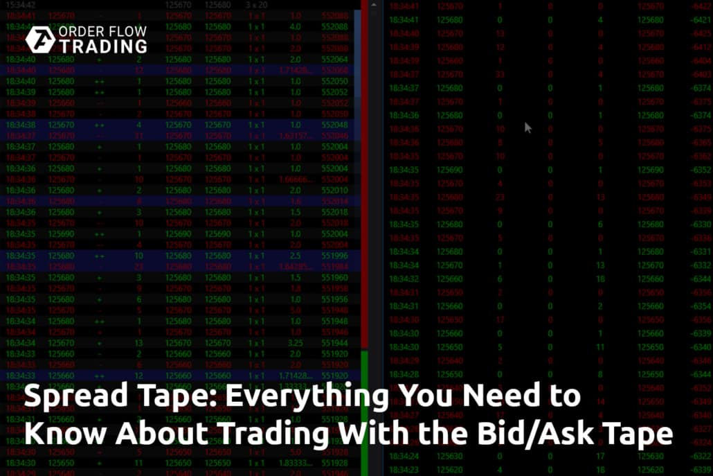 Spread Tape Everything You Need to Know About Trading With the BidAsk Tape