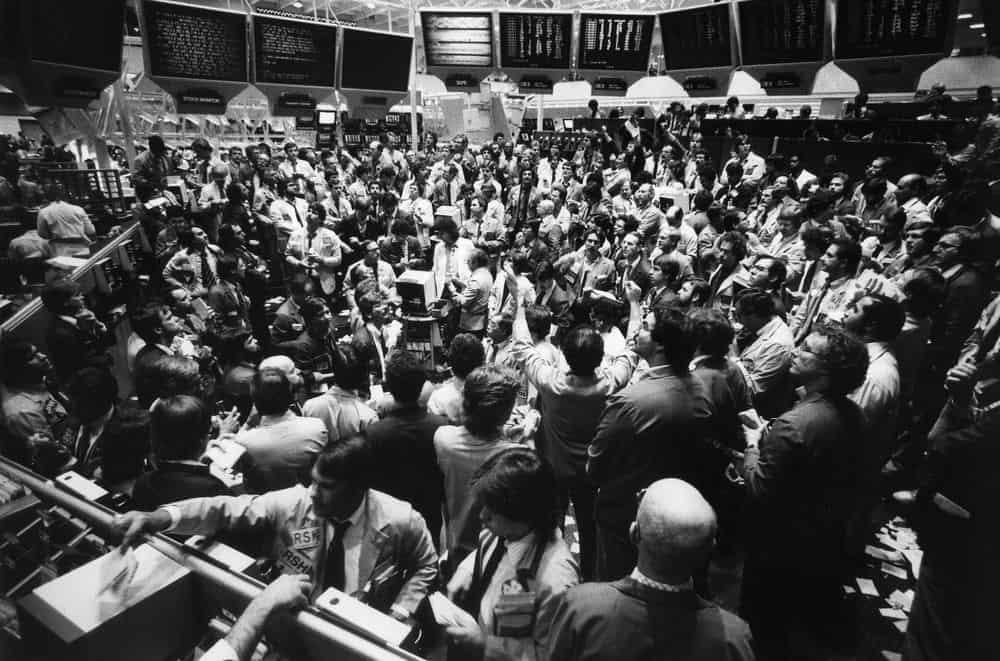 Когда-то биржевой трейдинг происходил так
