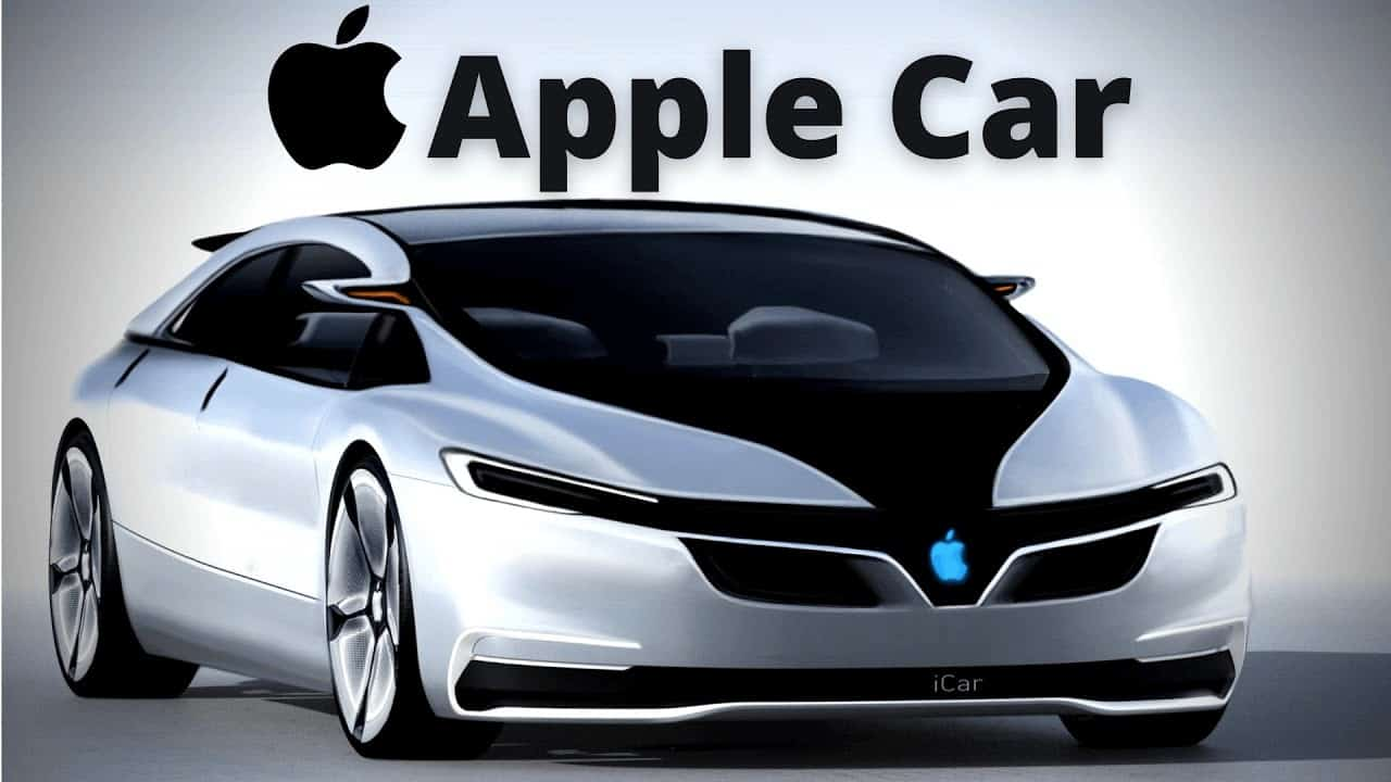 Возможный внешний вид Apple car. Не официальная версия!