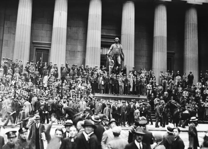 NYSE в 1929 году.