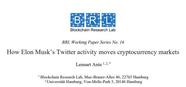 Исследование корреляции между твитами Маска и курсом криптовалют