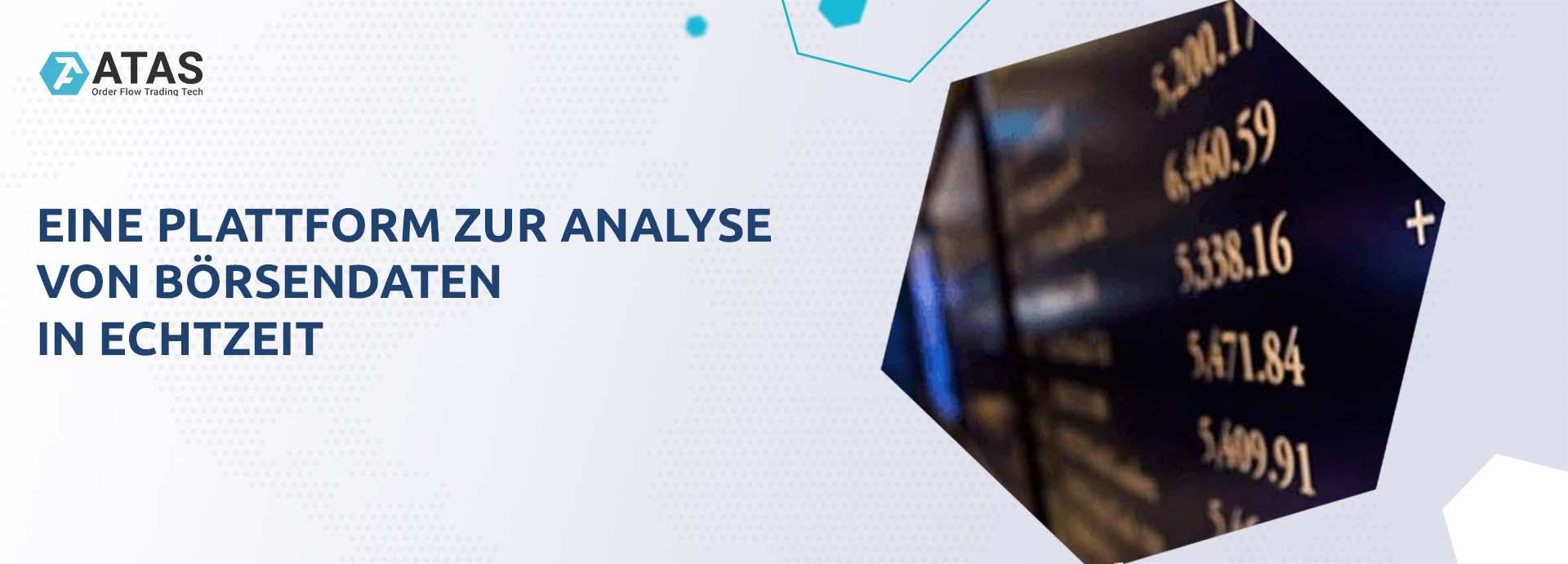 Eine Plattform zur Analyse von Börsendaten in Echtzei