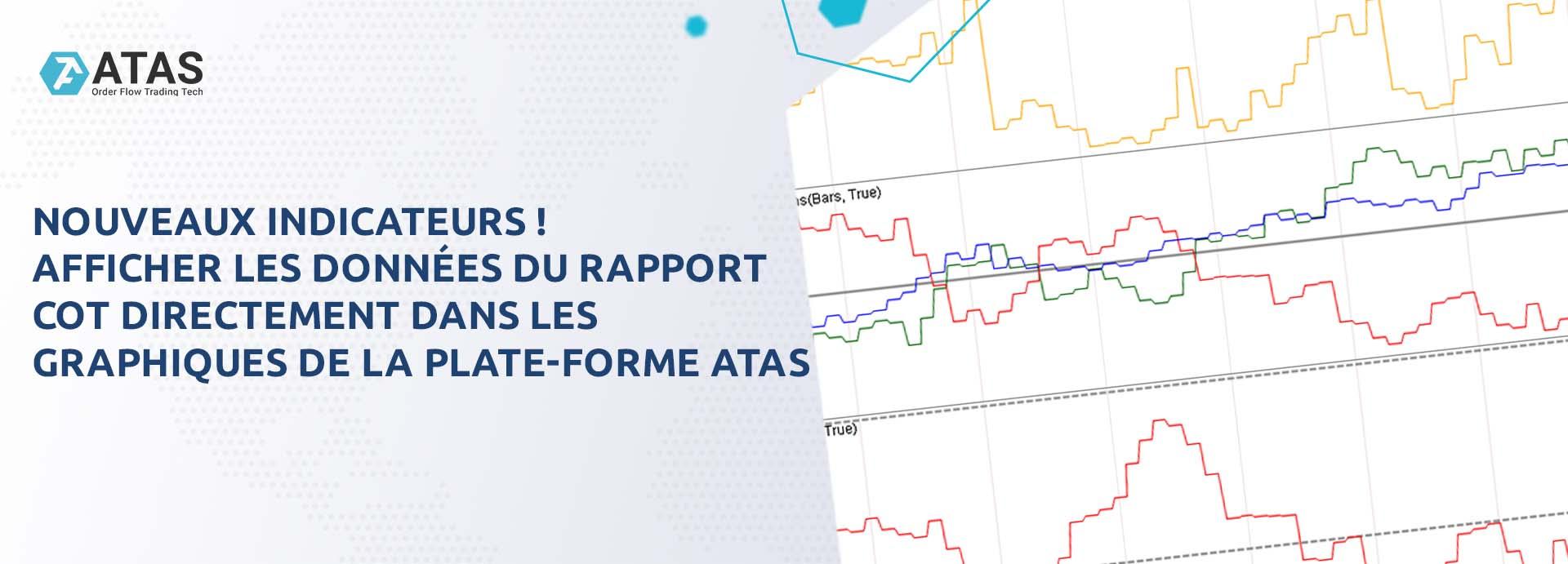Nouveaux indicateurs ! Afficher les données du rapport COT directement dans les graphiques de la plate-forme ATAS