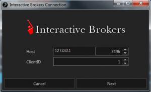 Подключение к Interactive Brokers