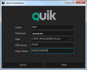 Quik connection